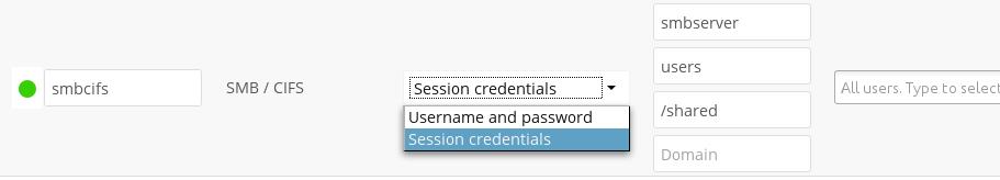 SMB/CIFS — Nextcloud 14 Administration Manual 14 documentation