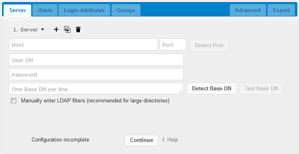 User authentication with LDAP — Nextcloud latest